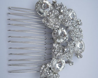 Wedding hair comb Crystal Bridal hair comb Wedding hair accessories Wedding decorative combs Bridal hair piece Wedding comb Bridal headpiece