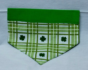 St. Patrick's Day Themed Over-the-Collar Dog Bandana