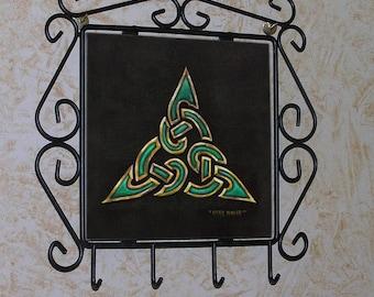 Bridget's Knot Celtic Tribal Magick Key Rack