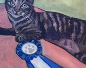 Beans, the Blue Ribbon Cat from Brooklyn