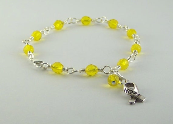 Yellow Awareness Bracelet