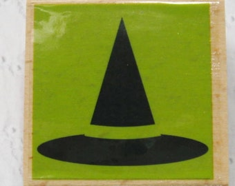 Halloween Witch Hat - Studio G Rubber Stamp