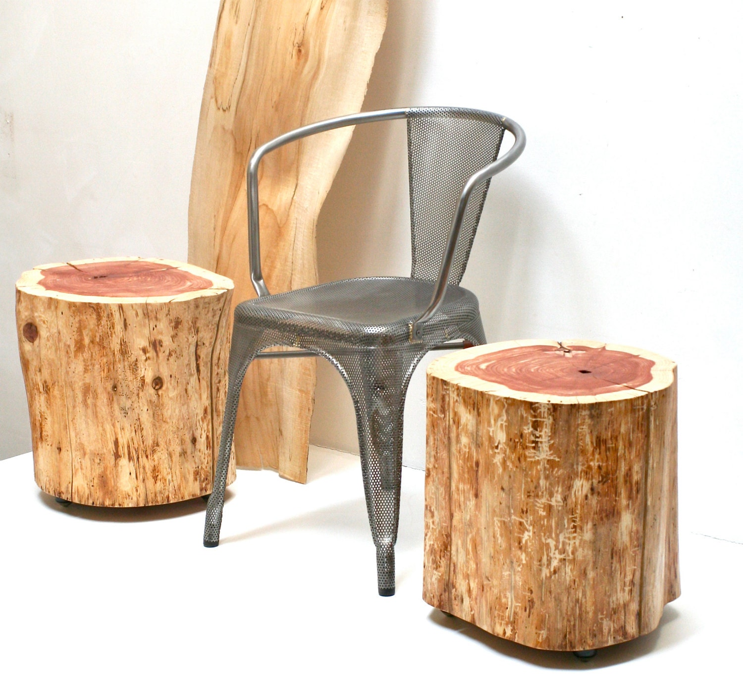 Stump Table Furniture End Table Stool Seat By Realwoodworks1