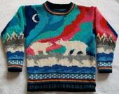 Knitting Pattern: Aurora Size Seven Years