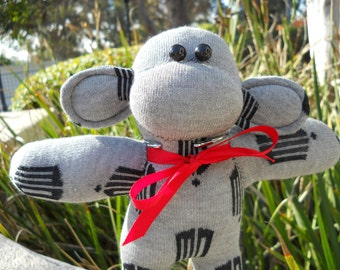 Dr. Who baby sock monkey