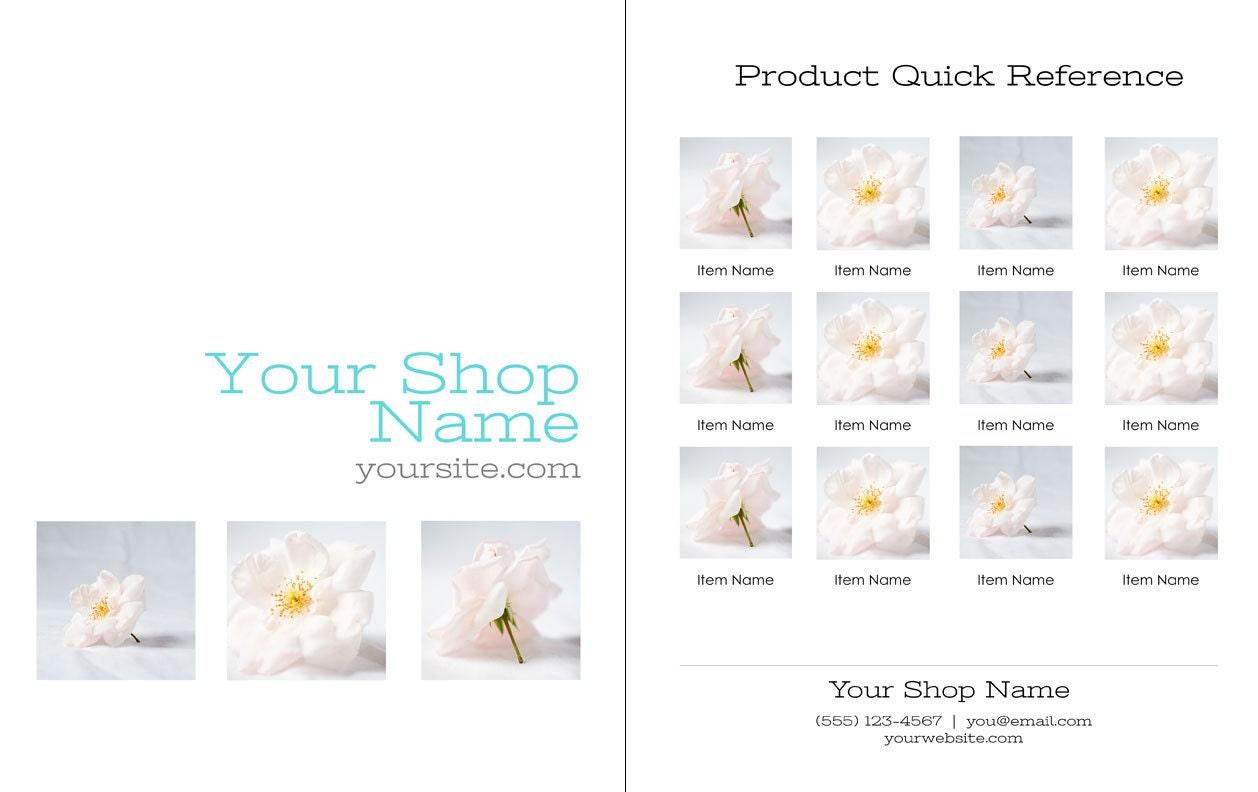 diy photoshop line sheet template promote your business to. Black Bedroom Furniture Sets. Home Design Ideas