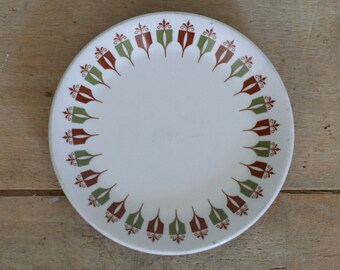 vintage small plate syralite captains table pattern by syracuse china