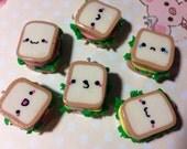Kawaii Sandwich Charm