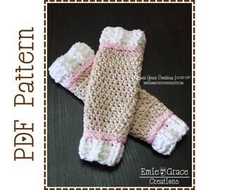 Crochet Sock Monkey Leg Warmers Pattern - Classic - 7 Sizes (Newborn to Adult) - SOCK MONKEY - pdf 704