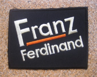 Franz ferdinan music PATCH badge