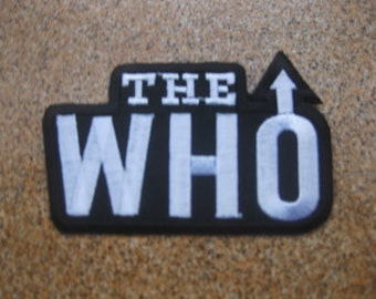 THE WHO Music Patch Badge