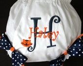 Team Spirit Auburn Fan Girls' Diaper Cover