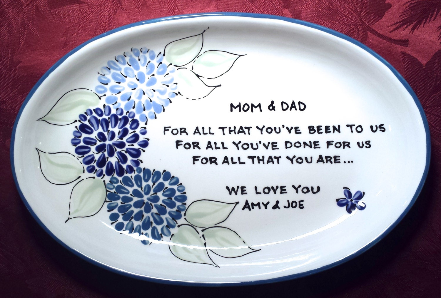 Wedding gift for parents wedding gift for mom thank you for Best gifts for parents for wedding