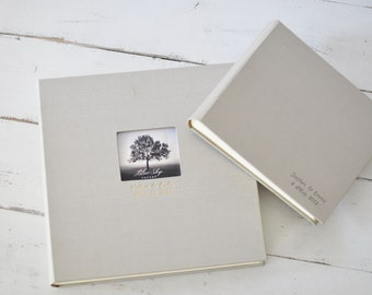 Wedding Guest Books or Wedding Photo Albums - Classic Book by Claire Magnolia