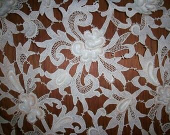 1 antique salesmans lace sample