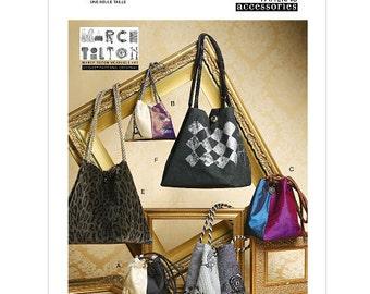Vogue Handbag Pattern V8662 by MARCI TILTON - Handbags in Six Variations - Vogue Accessories