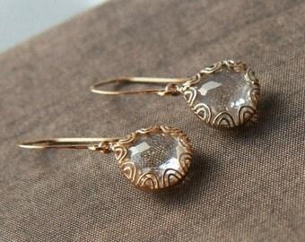 Gold Earrings,Dangle Earrings,Simple Earrings,Bridesmaids Gift,Bride Earrings,Bridesmaids Earrings,Mothers Day,Mothers Day Gift