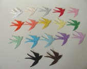 25 Seed Paper Swallows