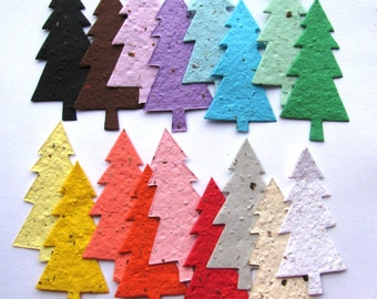 25 Seed Paper Trees