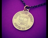 Vintage New Orleans Streetcar Token Necklace