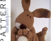 INSTANT DOWNLOAD : KISS Series - Bunny Crochet Pattern