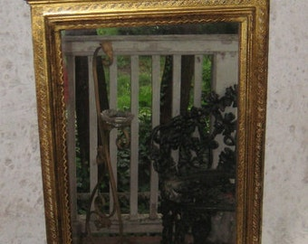 Dress Up Your Wall Rare Italaina Mirror Shelf Drawers Florentine Way so Chic