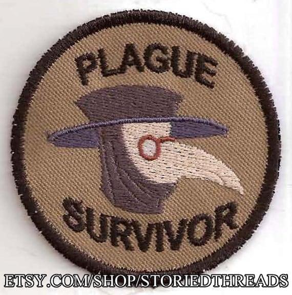 Plague Survivor Geek Merit Badge Patch