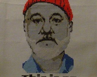 The Life Aquatic-Cross Stitch Pattern PDF