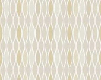 Classical Elements By P&B Textiles - Modern Neutral Tan, Taupe, and White Quilt Fabric Geometric