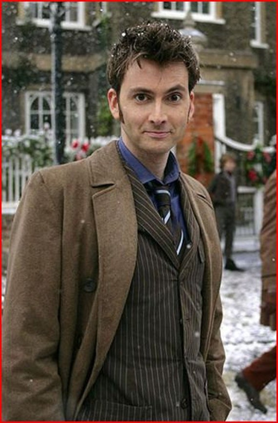 10th Doctor Who's Trench Coat and Suit  Custom Made - Down Payment Listing