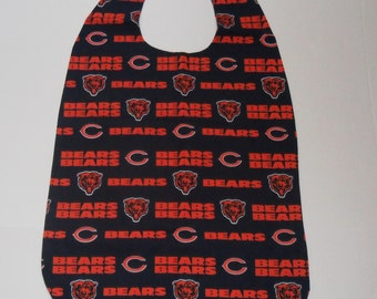 Reversible Adult Cover Up/Bib- Chicago Bears