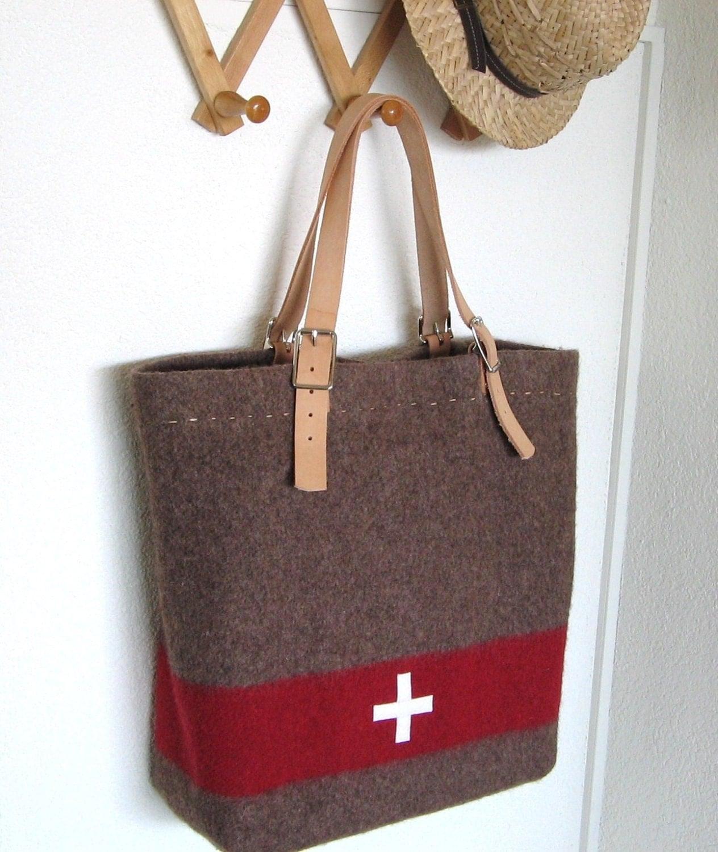 Swiss Army Blanket Bag XL Beach Bag durable shopping Tote