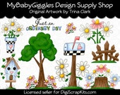 Ordinary Day Clip Art Digital Graphics scrapbooking carterie alimentation téléchargement immédiat