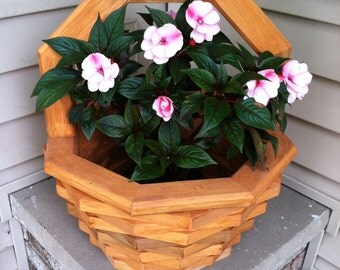 Octagon Shaped Flower Planter
