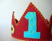 Felt Birthday Crown, Any Color You Choose