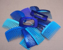Popular items for decorative hair comb on etsy - Decorative hair slides ...