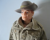 Vintage GI Joe Action Soldiers of the World Aussie Jungle Fighter SOTW 1960s