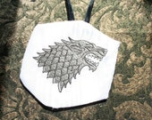 Game of Thrones House Stark Dire Wolf Christmas Ornament