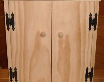 Handmade Wardrobe Cabinet for 18 inch Doll
