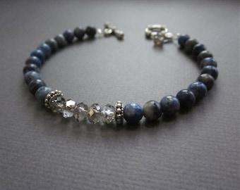 royal blue sparkle - the adin bracelet