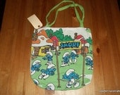Smurf Tote Bag -- BLOWOUT SPECIAL