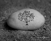 Anniversary Gift, Modern Family Tree, Engraved Stone Style, Anniversary Print, Custom Anniversary Gifts, Personalized Anniversary Gift