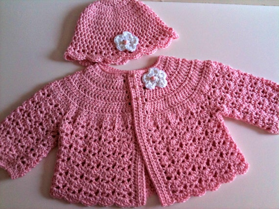 Crochet Pattern For Baby Hat And Sweater Dancox For
