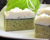 WAKE UP CALL Cold Process Soap with eucalyptus and peppermint essential oils