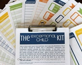 The EXCEPTIONAL Child Kit - 11 documents - INSTANT DOWNLOAD