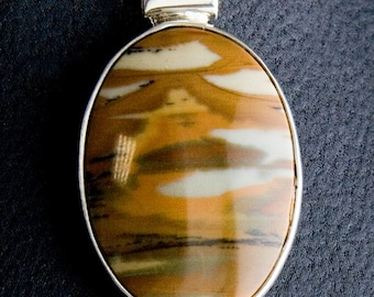 Owyhee Jasper Pendant
