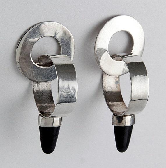 Geometric Warrior Earrings