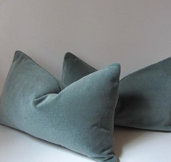 Ocean Blue Decorative Pillows : SALE 20% off Ocean Blue Velvet Pillow Decorative Pillow