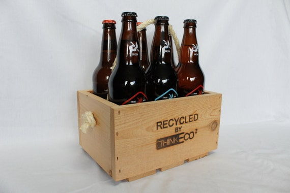 Eco Hops 22 oz Craft Beer Bomber Six Pack Carrier