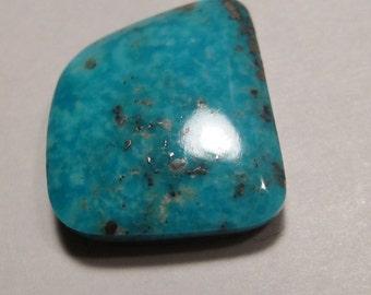 Narcozari Turquoise cab  ....    19 x 17 x 4.8 mm           ..... a2011